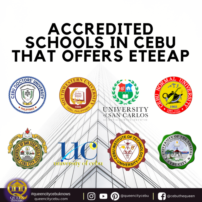 Accredited Schools in Cebu that offers Eteeap