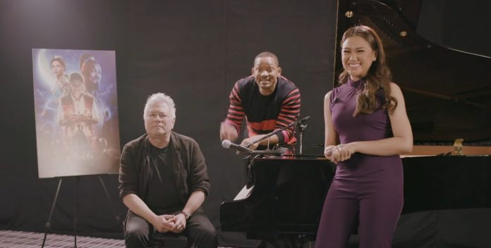 Will Smith's wish granted, Morissette Amon sings with 'Aladdin' composer Alan Menken