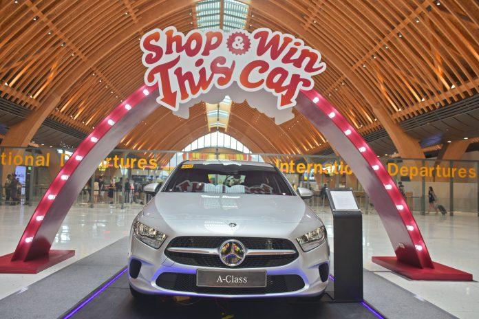 mactan cebu itnernational airport shop and win