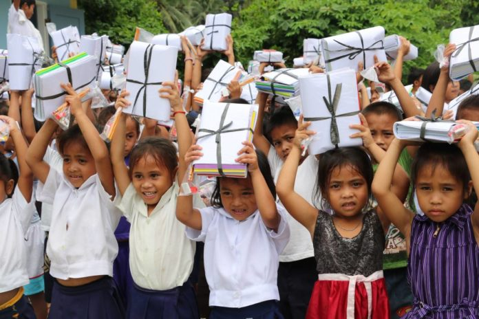 FREE Uniforms, Supplies and Food for Cebu City Pupils