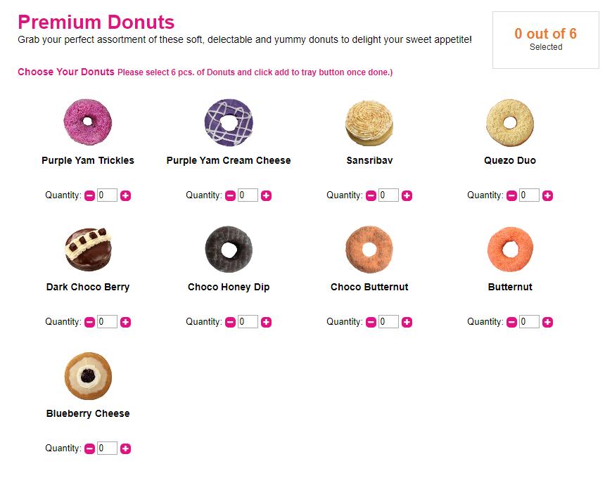 dunkin donuts premium flavors