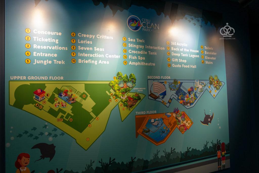 cebu oceanpark map