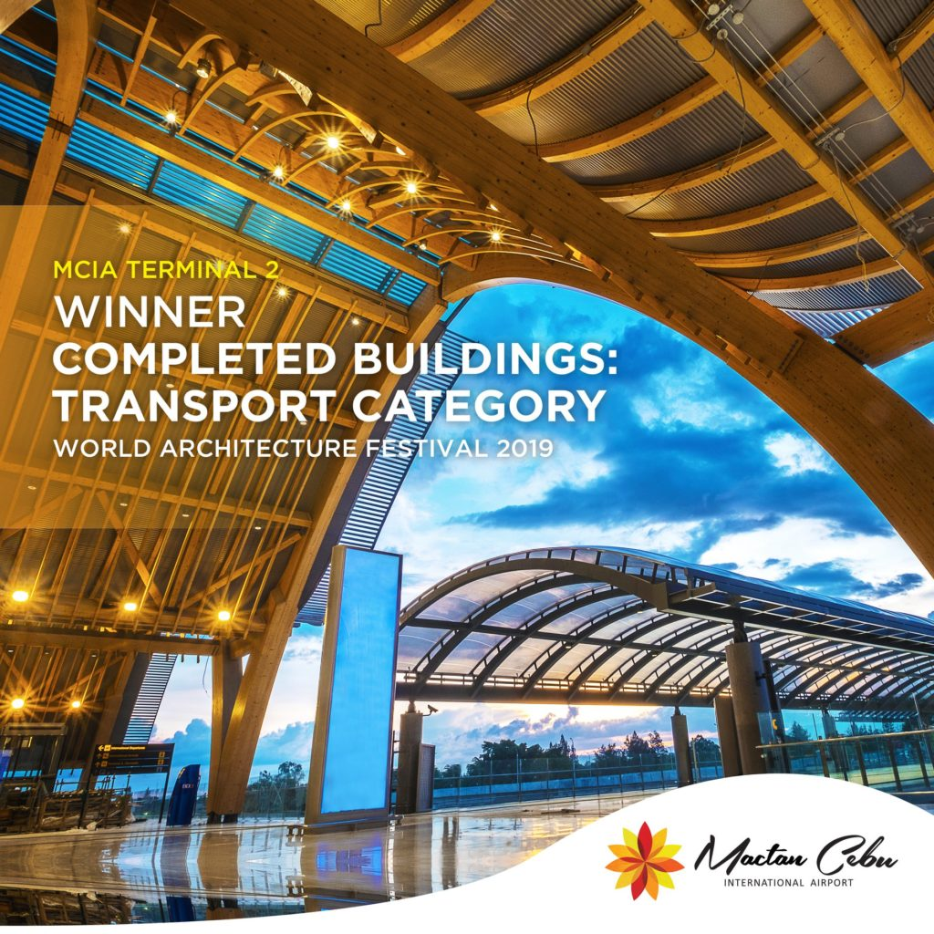 mactan airport wins world architecture festival