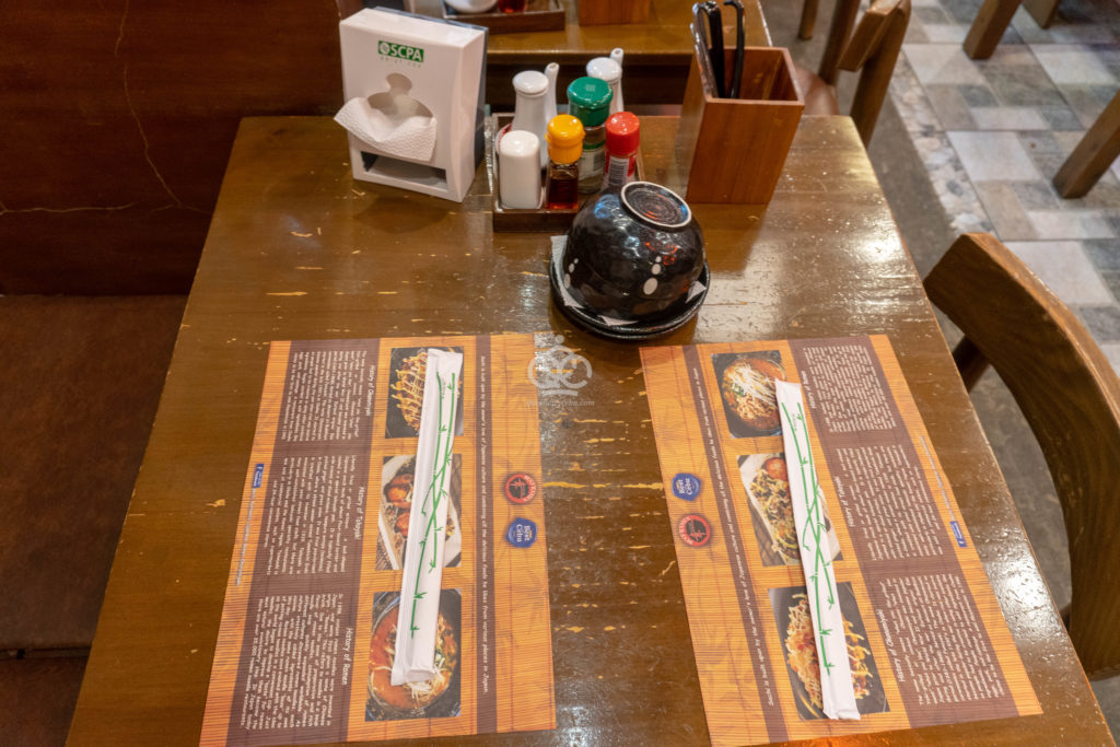 sachi table setting