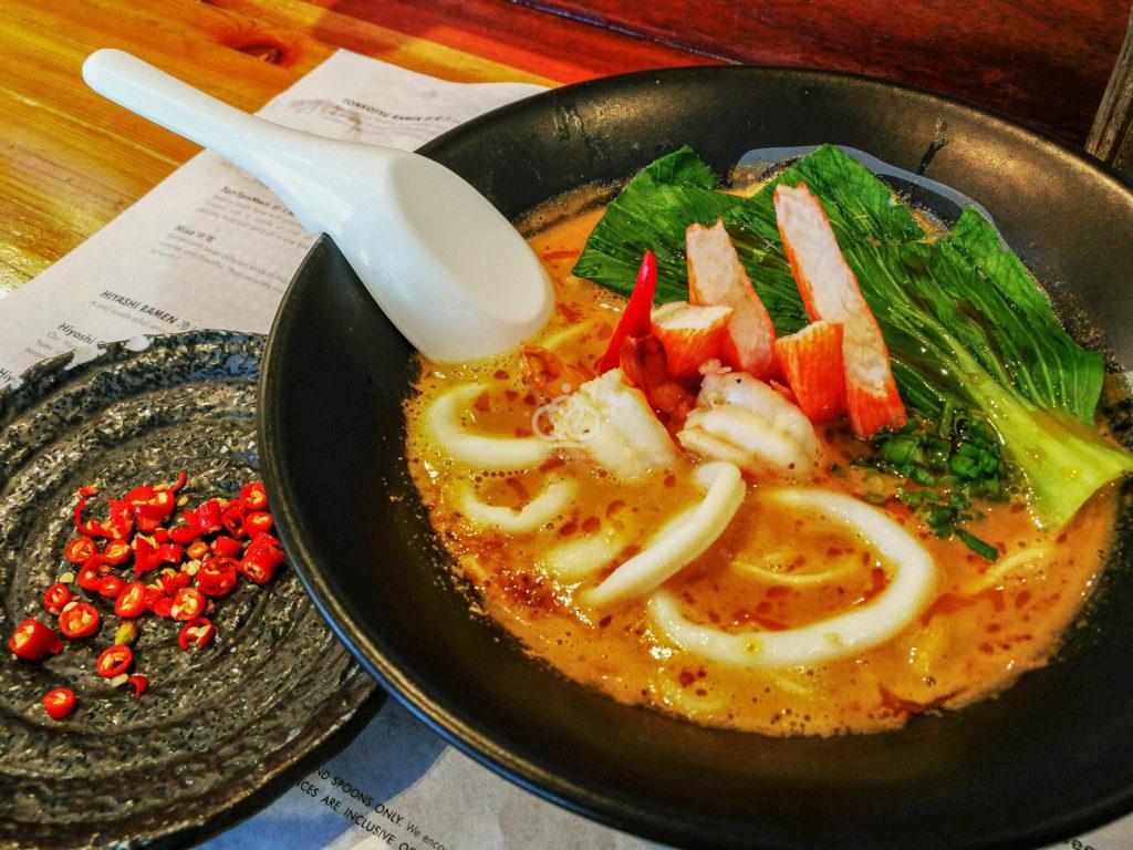 Yushoken seafood ramen