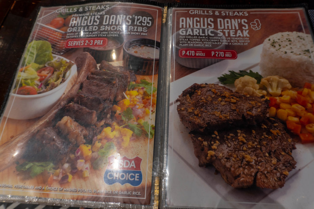 angus dan beef steak