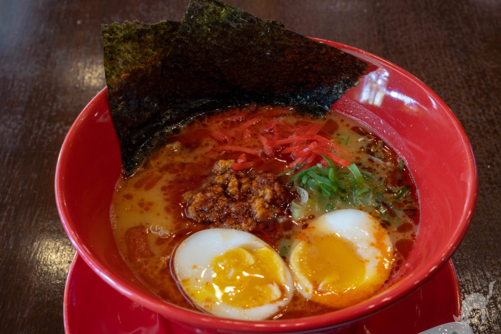 barikata ramen spicy tonkotsu